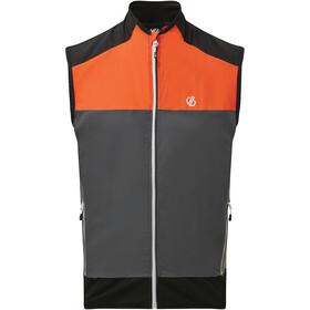 Dare 2b Aptile Vest Men ebony grey/trail blaze/black